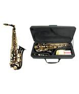 E Flat Black Alto Saxophone with Case + Extra 10 Reeds - $269.99