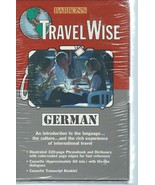 Barron's Travelwise German AudioCassette & Phrasebook by Susanne Easterb... - $9.99
