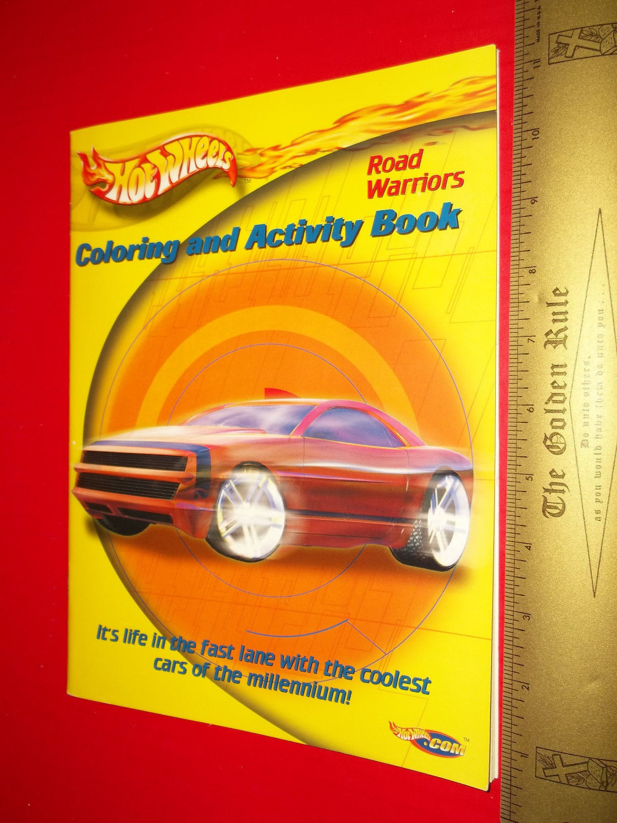 Hot Wheels Craft Book Art Road Warriors Paper Race Car ...