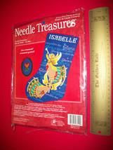 Craft Holiday Needle Treasures Angel Stocking Christmas Ornament Cross S... - $28.49