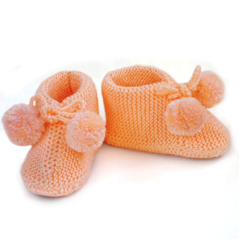 Baby Knitting Shoes Products : How to knit baby shoes youtube