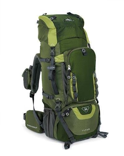 Hiking Backpack Tech Series Internal Frame Pack Treks Camp Boy Girl Scout Sports