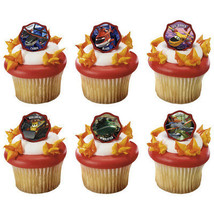 Disney's Planes 2-Fire Recue Piston Peak Rescue Team Cupcake Rings - $2.99