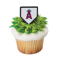 MLB Anaheim Angels Cupcake rings - $2.99