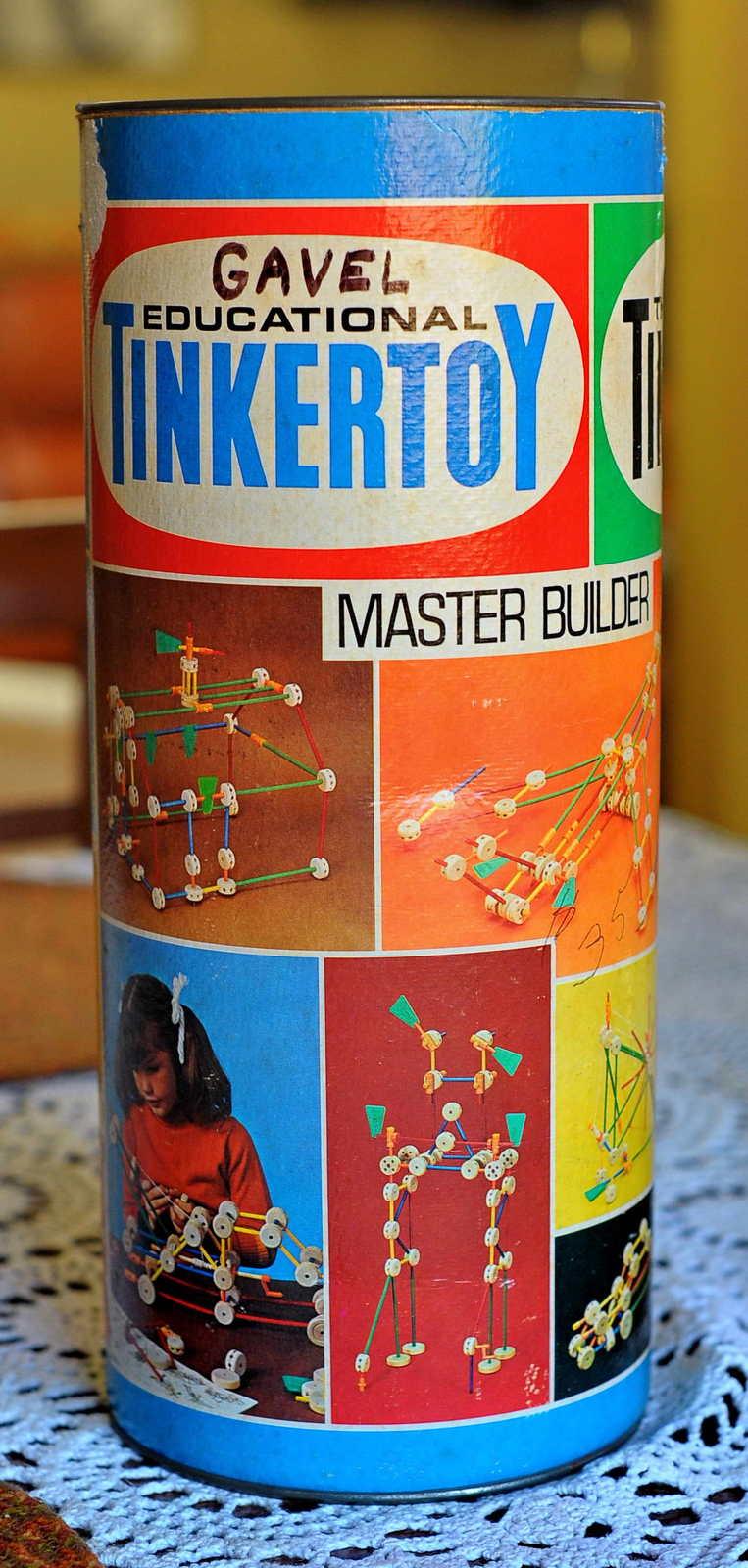 Tinkertoy master builder no. 150.sf
