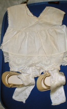 Chatty Baby White  Jumper Dress - $9.90