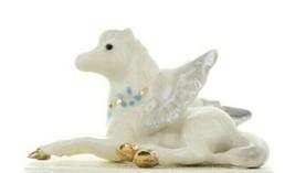 Hagen Renaker Fantasy Pegasus Lying Miniature Ceramic Figurine