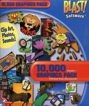 10,000 Graphics Pack Vol 1 - $2.99