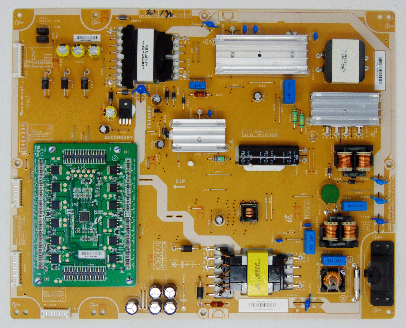 Primary image for VIZIO 0500-0614-1040 PSLL211D06M Power Supply Board for D65-E0 LAUAWDAT