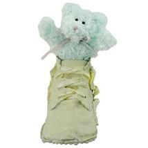 BOYDS 2002 BEAR-FOOT DUFFY TINY TOES RESIN SHOE W/ PLUSH BABY BEAR NEW W... - $12.57