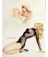 Alberto Vargas 2-Sided Print 1943 Pinup Girls OOPS! MISSING ARM! & ARMY ... - $15.84