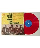 THE GOOD LIFE WITH THE DRIFTERS RED VINYL!! MEGA RARE 1965 TAIWAN PRESSI... - $39.59