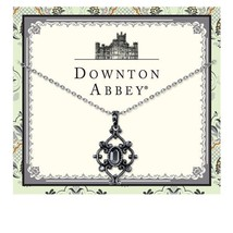 Downton Abbey® Antique Silver-Tone Hematite Pendant  Free Shipping 17693 - $20.67