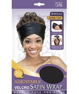 Qfitt Adjustable Satin Wrap Hair Wigs Style No Slip Night Caps Style #17... - $5.89