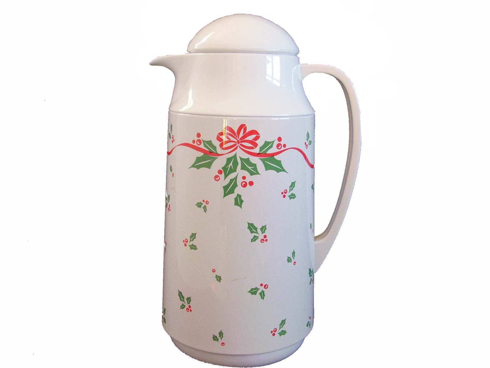 Corningware Corelle Thermique Winter Holly Insulated Carafe - $35.99