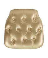 Offex Hard Tufted Design Thick Foam Interior Vinyl Chiavari Chair Cushio... - $23.68