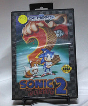 Sonic The Hedgehog 2 Sega Genesis S2-3 - $13.54