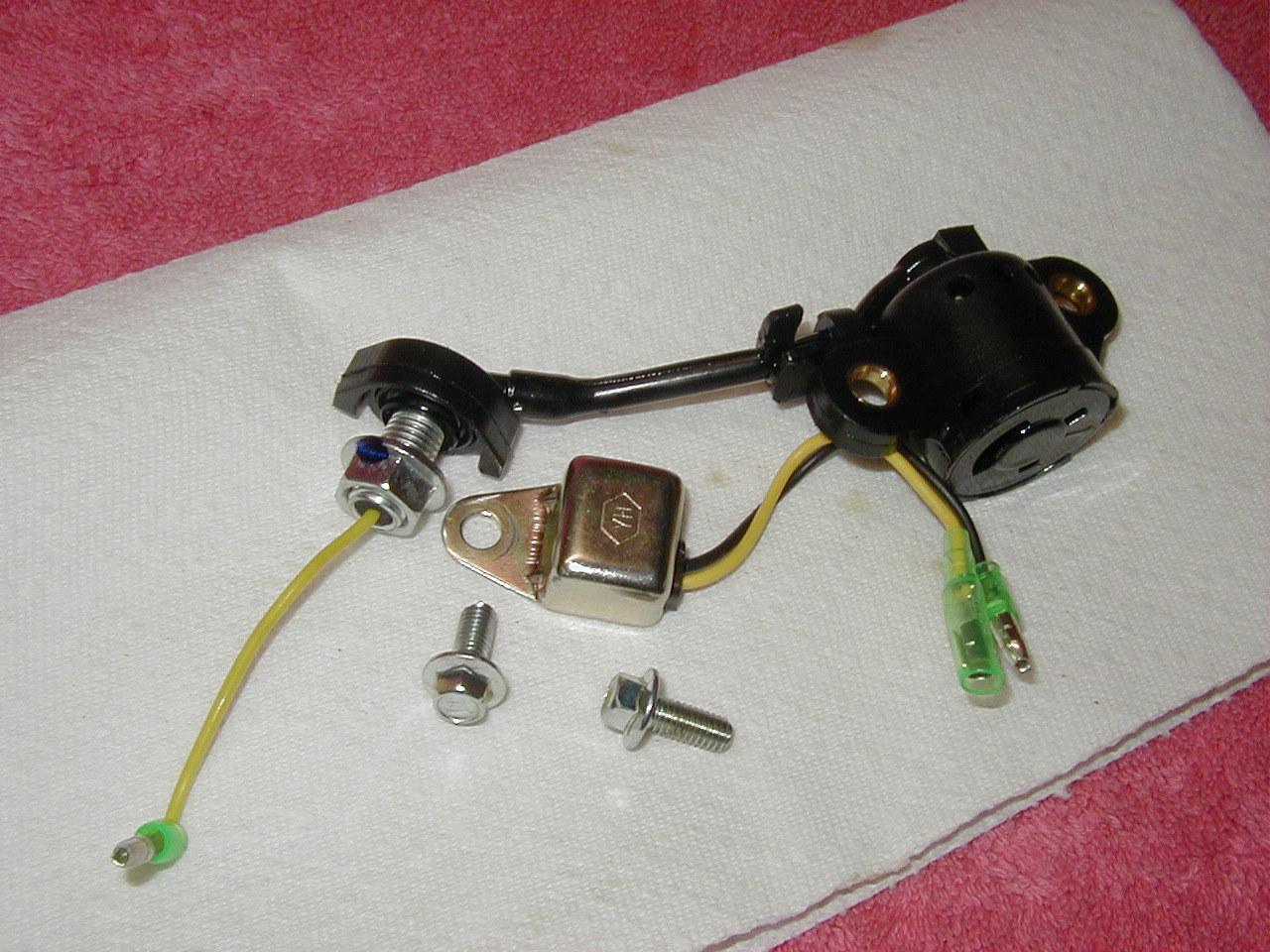 PREDATOR 212 CC OHV HORIZONTAL SHAFT GAS ENGINE PARTS - LOW OIL SHUTDOWN