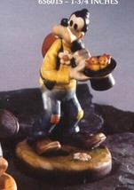 "Disney Goofy Brids in hat t Woodcarving Anri  4"" tall   Iatly - $449.99"