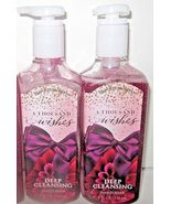 2 bottles Bath & Body Works Deep Cleansing Hand Soap bow label A Thousan... - $39.99
