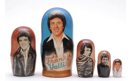 "Matryoshka nesting doll Frankie Valli Free Worldwide shipping 6"" - $54.90"