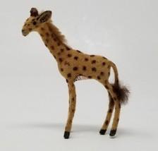 Vintage Wagner Kunstlerschutz Giraffe Animal Figure Label  - $19.79