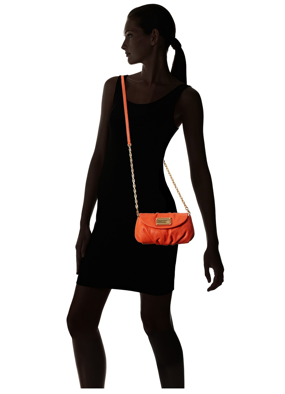 408a654a8f9c NWT MARC by MARC JACOBS Classic Q Karlie Crossbody Bag Spiced ORANGE MSRP   258