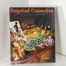 Perpetual Commotion Card Game [ Goldbrick Games 2003 ] [ Brand New ] Boa... - $33.85