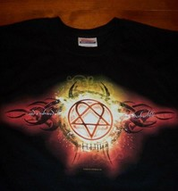 HIM  H.I.M. Embrace The Fire Indestructible Band T-Shirt MENS LARGE NEW - $19.80