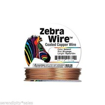 Zebra Natural Copper Jewelry Craft Wire 20 ga gauge 15 yards (13 meter/ ... - $6.72