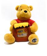 Winnie the Pooh Picture Photo Frame Stuffed Animal Plush Walt Disney Wo... - $19.99