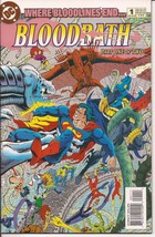 DC BloodBath #1 of 2 Justice League Titans Action Adventure Drama Mystery - $4.50