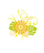 flower Petal Bouquet Collage-Digital Download-C... - $4.00