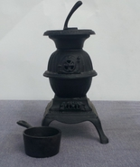 Minitaure Cast Iron Pot Belly Stove - Reproduction - Made in Taiwan - $45.00