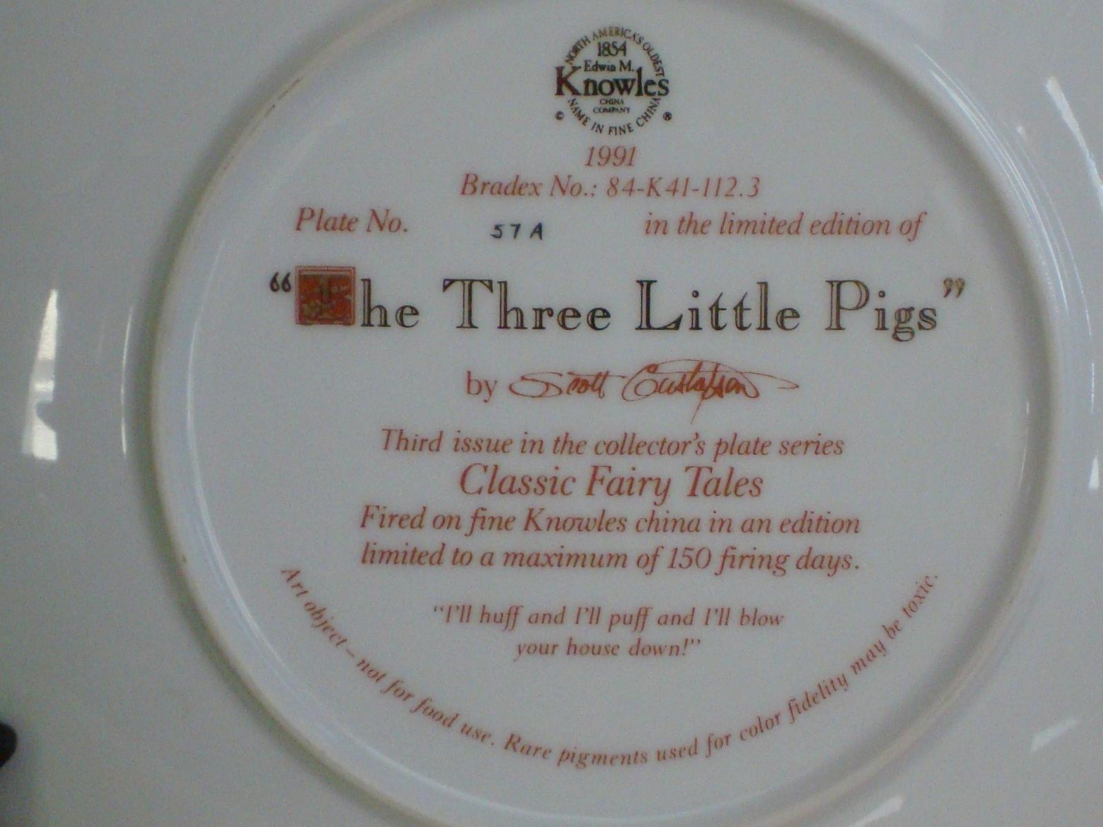 """The Three Little Pigs""  by Scott Gustafson"