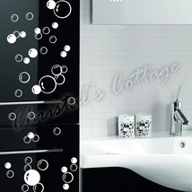 86 Bubbles Wall Art Bathroom Window Shower Tile Decoration Decal Kid Car Sticker - $1.62+