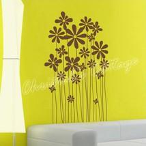Daisy Flower Plants Vinyl Wall Art Graphic Sticker Decals Fashionable Decoration - $13.19+
