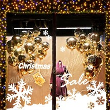 Large Snowflake Snow Christmas Slae 2M Shop Show Window Wall Decoration Sticker - $32.66+