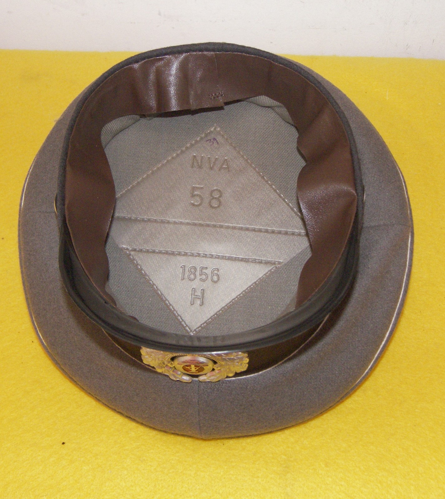 Vintage Original WWII East German Soldiers Hat Cap