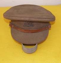 Vintage Original WWII  Canadian Officer / Soldier Signal Corps Hat  - $125.00