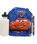 Disney Car Lunch Bag with a Water Bottle - Blue... - $10.99