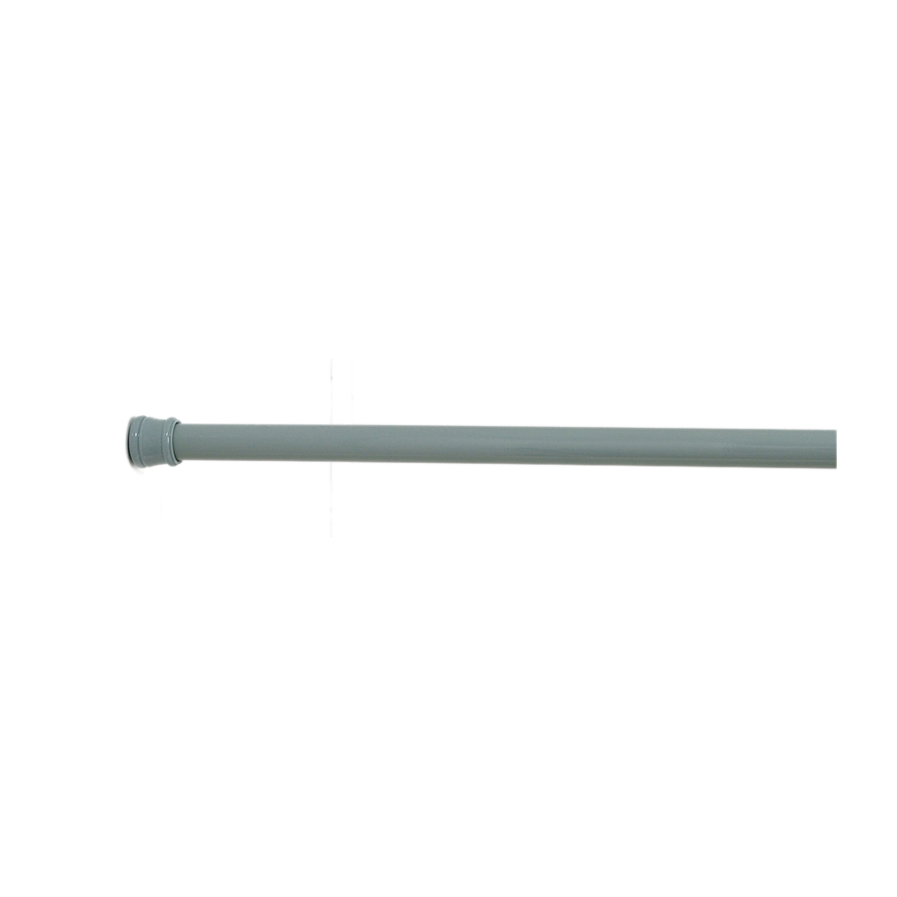 Carnation Home Fashions Steel Shower Curtain Tension Rod in Sage - 1301-TSR-42