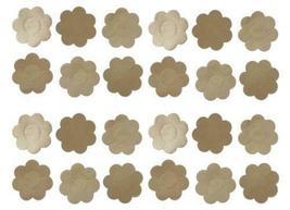 Lot Of 12 Packs Women's Premium Adhesive Breast Petals Nipples Cover Beige #2006 image 5
