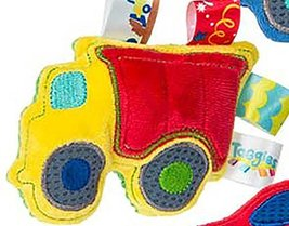 "Taggies™ Wheelies Monster Truck Rattle 5"" by Mary Meyer - $13.79"