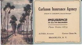 Original Vintage Illustrated collectible 1926 Ink Blotter - $12.86