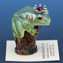 Birthstone Tree Frog Prince January Garnet Miniatures by Hagen-Renaker image 2