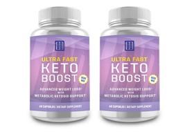 2 Bottles: ULTRA FAST Keto Boost - The Original by Double Dragon Organics 800 MG - $49.48