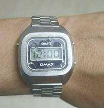 vintage omax digital watch - $43.56