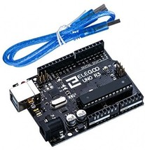 Elegoo EL-CB-001 UNO R3 Board ATmega328P ATMEGA16U2 With USB Cable For A... - $30.08