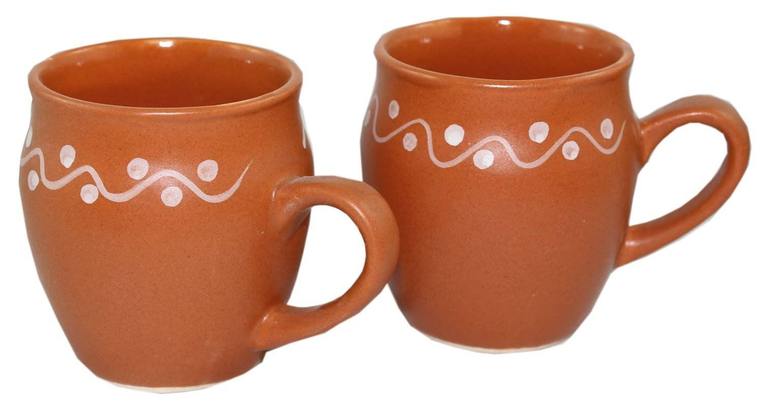 Primary image for Odishabazaar Kulhar Kulhad Cups Traditional Indian Chai Tea Cup Set of 2 Tea Mug